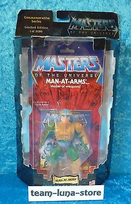 Masters of the Universe Motu Commemorative Man at Arms neu + ovp / He Man Mattel
