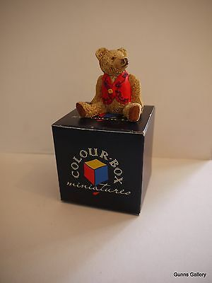 Peter Fagan Colourbox Teddy Bears boxed Red George TC619R