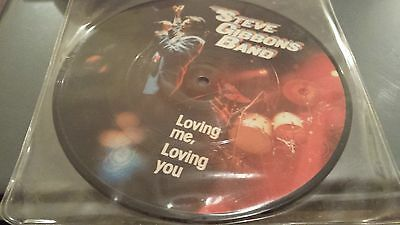 "Steve Gibbons Band: Loving Me Loving You, 7"" Picture Disc, 1982"