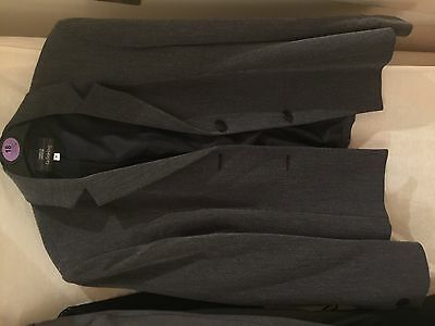 Marks and spencer, Black Suit, Size 12, And Trousers, Size 10, Used