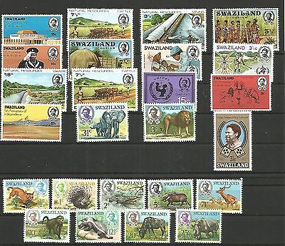 Swaziland  Selection  Unmounted  Mint