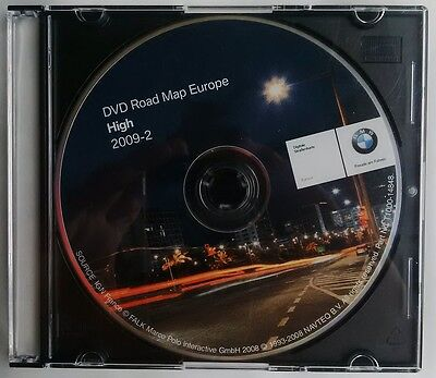 Bmw High Dvd Road Map Europe 2009 - 2 Navigation - Original