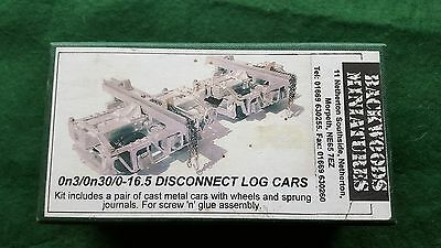 Backwoods Miniatures Disconnect Log Cars