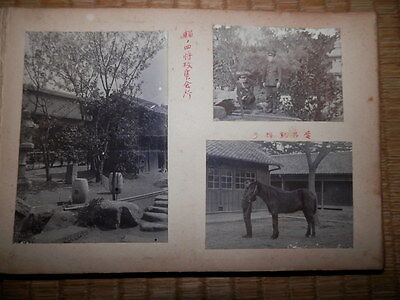 1920s Japanese Army Picture album 25 Photos Good.