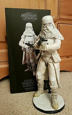 Sideshow Star Wars Snowtrooper 1/6 Figure Empire Strikes Back Stormtrooper