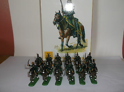 PAINTED SOLDIERS 1/72 20mm WURTTEMBURG CAVALRY NAPOLEONIC WARS x 12 HAT