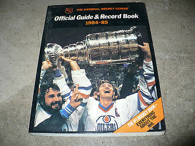 1984-85 Nhl Official Guide & Record Book