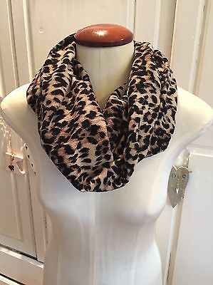 Warehouse Leopard Print Snood Scarf (one Size)