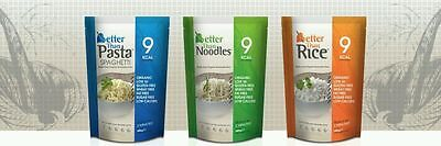 Better Than Rice, Paste, Noodles, Low Calorie Zero Carb Gluten and Fat Free