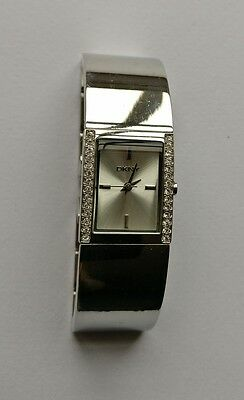 DKNY ladies tank watch - spares, condition unknown