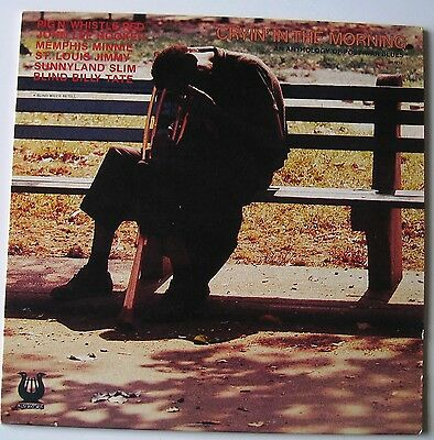 CRYING IN THE MORNING Anthology of Post War Blues [MUSE]  LP