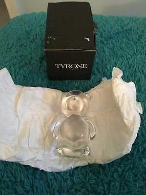 Tyrone Crystal - Teddy Bear - Complete With Box - Mint Condition