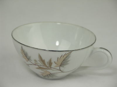 Vintage Royal Court Fine China of Japan Shelley Leaf Design Coffee Cup Gold Trim