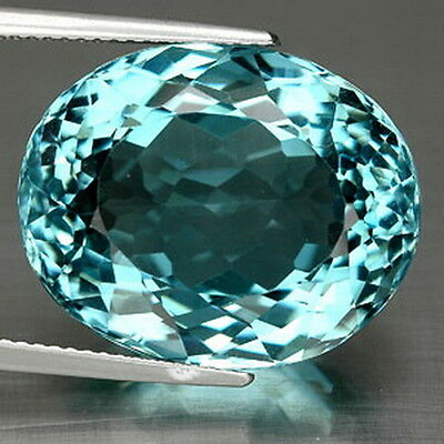 16.15 Ct. Attractive Oval Blue Aquamarine Z1178