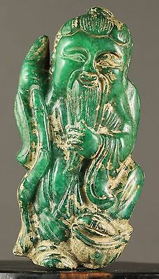 China old jade hand-carved pendant fine carved buddha NO.X566