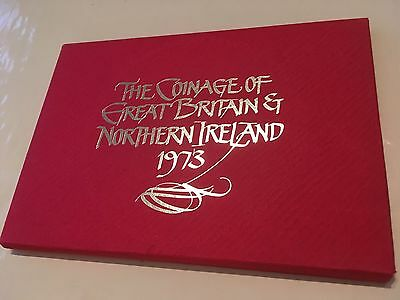 Royal MINT Coinage of Great Britain and Ireland 1973 presentation pack