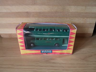 triang minic motorway M1545/G green double decker london bus