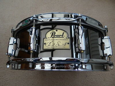Pearl Chad Smith signature snare drum 14 x 5inchs Steel