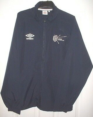 *NEW* England FA-Licensed Coaches Club-Football/Soccer Shower Jacket/Shirt-Large