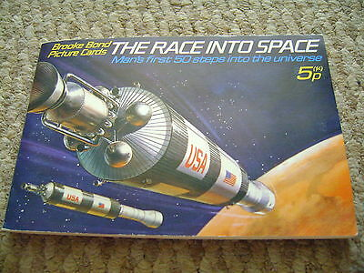 The Race Into Space Album & Cards By Brooke Bond