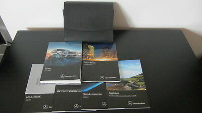 2015 Mercedes Benz S Class Owners Manual Books