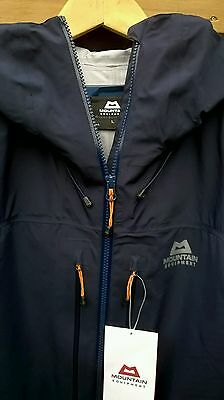 Mountain Equipment Men's Narwhal Waterproof Jacket Cosmos sz.L Brand New