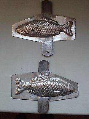 Vintage French Chocolate Mould/Mold Fish