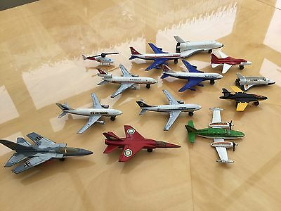 Selection Of Rare Metal Vintage Airplanes / Matchbox / Collectors Pieces