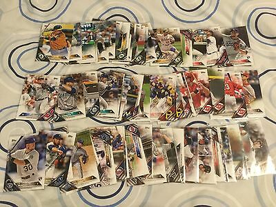 2016 Topps Baseball Mixed Lot Of 66 Base Cards 1, 2 & Update