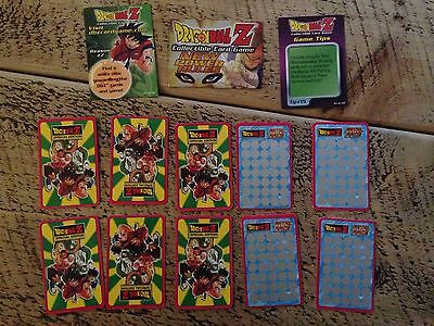 Dragon Ball Z Special Edition Cards bundle of 10 cards plus extras