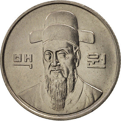 [#79870] KOREA-SOUTH, 100 Won, 1991, AU(50-53), Copper-nickel, KM:35.2