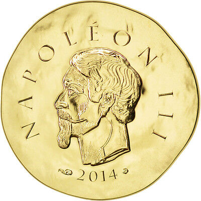 [#81887] France, 50 Euro, 2014, MS(65-70), Gold, 8.45