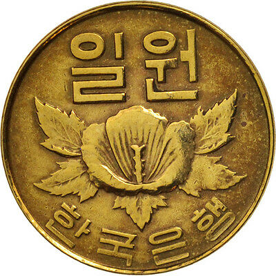 [#79873] KOREA-SOUTH, Won, 1967, AU(50-53), Brass, KM:4