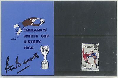 1966 World Cup Winners Presentation Pack Signed
