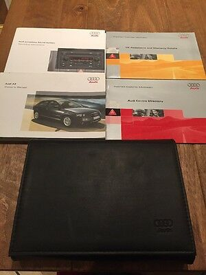 Audi A3 Owners Handbook/Manual and Wallet 05-08