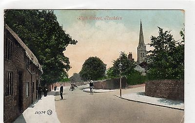 Early 1900's Rushden postcard.