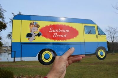Old Style Sunbeam Bread Truck Dairy Farm Kitchen Sign Made In The Usa!