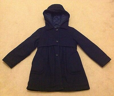 Girls Navy coats age 6-7 yrs (Autograph)