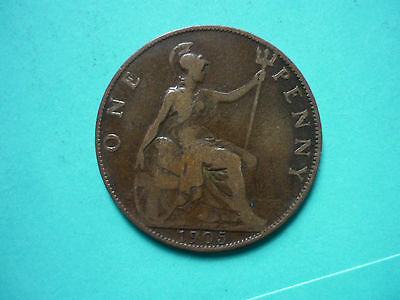 Edward VII Penny 1905 POST FREE