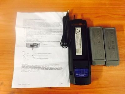 Scanreco RRC Charger and Battery Kit (2 Batteries Included) - Brand New