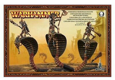 Warhammer Tomb Kings Necropolis Knights BNIB Age of Sigmar in Box