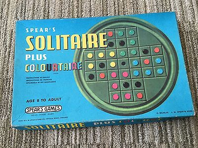 Vintage Solitaire Game With Colourtaire By Spears