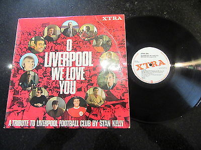 "Stan Kelly ""o Liverpool We Love You"" Rare 1969 Lp Bill Shankly Roger Hunt Kop"