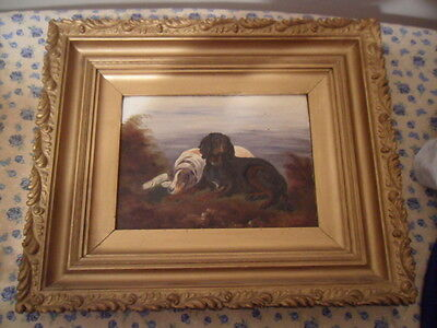 Good Gorden And English Setter Dogs Cleminson / ?