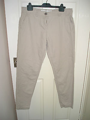 Ladies Chinos From Next Size 14 Long.  Excellent Condition