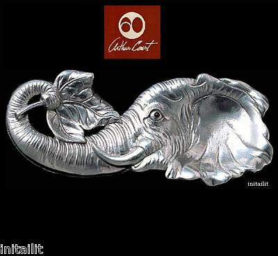 New In Box Authentic Arthur Court Elephant Spoon Rest Free Shipping