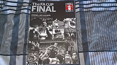 Mint Condition Liverpool Vs West Ham Utd 2006 Fa Cup Final