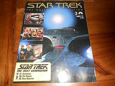 Star Trek The Collectors Edition Part 17 Magazine Next Generation TNG