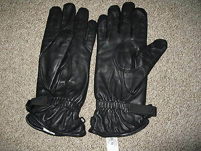 Black leather RAF issue Gloves