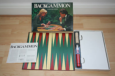 """""""backgammon"""" Board Game - Fully Complete & In Excellent Condition"""